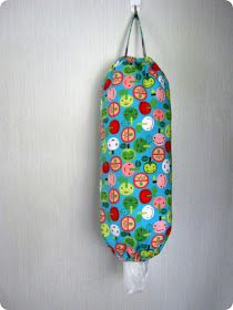 STITCH by Fay: Tutorial: Grocery Bag Dispenser 1