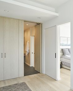 The square-foot Coal Harbour apartment originally felt much smaller due to a fragmented layout and jarring material palette. Vancouver, Studios Architecture, House Tours, Layout, The Originals, Bedroom, Luxury, Building, Furniture
