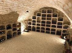 Cave A Vin Design, Cellar Conversion, Home Wine Cellars, Wine Cellar Design, Basement House, Tasting Room, Wine Storage, Cool Rooms, Future House