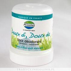 Dezodorant Doux di, Doux da...- 100% ałun potasowy, 100g, pudełko