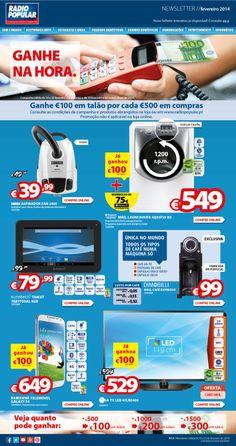 Newsletter - Ganhe na hora - Novo folheto já disponível!  http://www.radiopopular.pt/newsletter/2014/13/