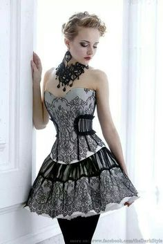 8b22734ce24 Sexy Bodice Black Lace Gothic Prom Corset Dresses Southern Belle Victorian  Homecoming Dress A-line Short Mini Hallowood Cocktail Party Dress