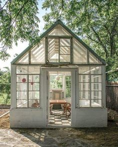 """See our web site for additional relevant information on """"greenhouse design architecture"""". It is actually a superb location to learn more. Backyard Greenhouse, Greenhouse Plans, Garden Cottage, Home And Garden, Glass House Garden, Outdoor Spaces, Outdoor Living, Dream Garden, Garden Inspiration"""