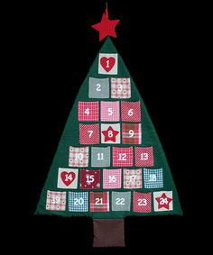 Christmas Tree Advent Calender by Countdown to Christmas! on #zulilyUK today!
