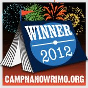 Thank you, Camp NaNo for the first 50,000 words of my new WIP!!! Wahoo!!!