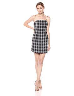 C/MEO COLLECTIVE Women's Solace Spaghetti Strap Sheath Mini Dress Program Design, Designer Dresses, Spaghetti, Summer Dresses, Elegant, Mini, Stuff To Buy, Shopping, Collection