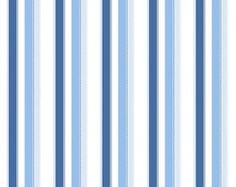 Papel de Parede Listras Azul 53Cmx10Mts