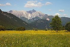 Krn from the west, Slovenia