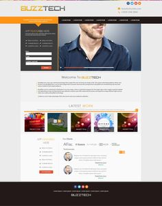 Create an eye-catching website for a marketing and advertising niche by KonnstantinC