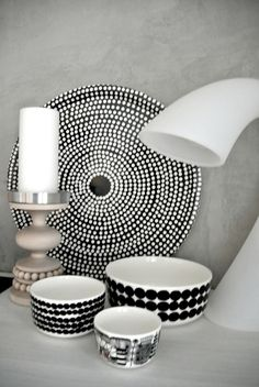 fokus tarjotin - Google-haku Marimekko, Place Settings, My Dream Home, Finland, My House, Sweet Home, Home And Garden, Black And White, Tableware