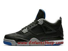 0fd6957879a2 Air Jordan 4 Retro Chaussures Basket Jordan Pas Cher Pour Homme Game Royal  308497-006