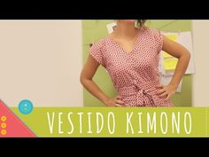 Descomplica! Aprenda a costurar um vestido kimono - YouTube