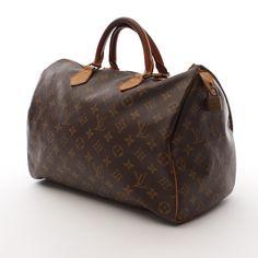 LOUIS VUITTON Handtasche Gr. Mittel Braun Damen Tasche Original Vintage Speedy