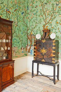 Wonderland Philosophy: de Gournay Chinoiserie: Abbotsford design for 16 Queen Anne's Gate