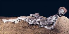 Archaeologists at the British Museum called this bog body Ginger because of his amazing hair