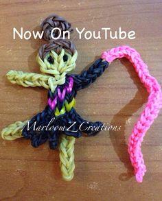 Rainbow loom Gymnast - Rhythmic Gymnast