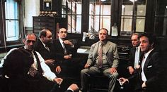 The Godfather - Corleone Family Fredo Corleone, Don Corleone, Godfather Part 1, Godfather Movie, Lauren Bacall, Academy Award Winning Movies, Corleone Family, Richard Conte, Carlito's Way