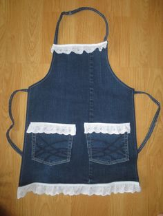 toddler/youth jean apron by lovebugcreation83 on Etsy