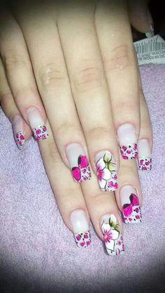 Excelente  combinación Ideas Para, Nail Art, Nails, Top, Beauty, Toenails, Nail Bling, Designed Nails, Work Nails