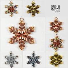 Arrow® - Bijoux Components - Svět korálků Earring Tutorial, Xmas, Christmas, Bead Earrings, Bead Art, Beading Patterns, Arrow, Dangles, Beaded Bracelets