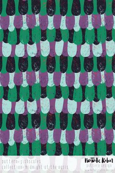 Fish scales- Natalie Robin Pattern Design