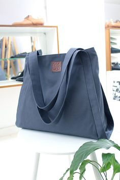 torby na ramię - damskie-torba TOTE / szara
