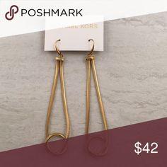 Michael Kors Gold Drop Earrings MKJ1731 Michael Kors Gold Drop Earrings MKJ1731 Michael Kors Jewelry Earrings