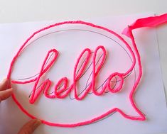 Wire-wrapped Words Step 9 Love this idea for cheap, easy DIY wall art for Lilly's room. Diy And Crafts, Crafts For Kids, Arts And Crafts, Diy Projects To Try, Craft Projects, Deco Rose, Diy Inspiration, Creation Deco, Crafty Craft