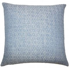 Caitir Geometric Pillow Chambray