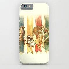 "Harry Potter ""House Brawl"" Phone Case ($35-$98)"