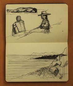 Diario de viaje - Amazonas by Geraldine Guterman, via Behance