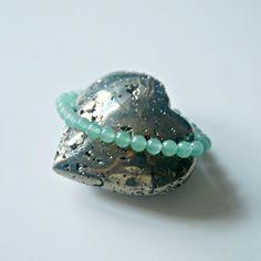 Green aventurine bracelet, 6mm green gemstone bracelet, beaded stacking bracelet, bohemian jewelry, green bracelet, harmonizing jewelry Bead Shop, Green Gemstones, Green Aventurine, Minimalist Jewelry, Bohemian Jewelry, Jewelry Shop, Gemstone Beads, Sterling Silver Jewelry, Swarovski Crystals
