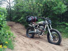 Moto-Mucci: DIRT TALES: Daniel Peter's Custom Honda XR650 Hits The Trails