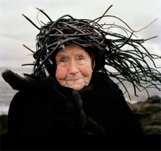 Cailleach Bheur | ... of the world with wind in her hair. Reminds me of the an cailleach