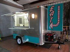 "5 x 8 Dessert Cart ""Retro"" Mobile Food Truck Concession Trailer Ships 3 Weeks   eBay"