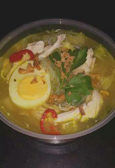 Home made indonesian soto ayam!