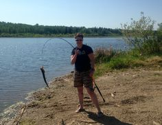 Beautiful day fishing with my friend at Wizard Lake
