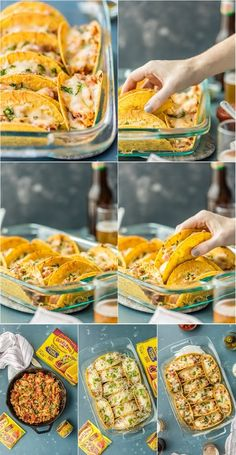 Ingredients  1 tablespoon olive oil  1/2 pound cooked chicken, shredded  1 (1 ounce) packet Old El Paso Hot & Spicy Taco Seasoning  1/2 ...