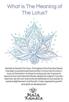 What is the significance of the lotus? What does the lotus mean? Spiritual Yoga Symbols and What they Mean.