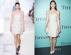Jessica Biel In Giambattista Valli Couture – Tiffany  & Co. Champs Elysées Flagship Opening