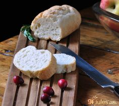 One of the most popular recipes I've sampled at gluten free food expos is my gluten free baguette. Now I'm sharing my recipe secrets to delicious baguettes!