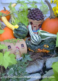 Fall Fairy Windowbox