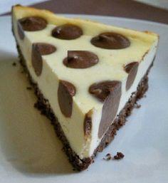 Polka dot cheesecake delicious