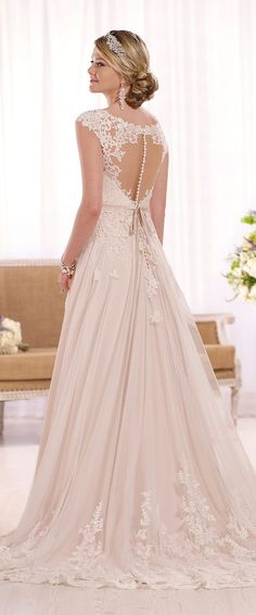Wedding Dresses Inspiration : Essense of Australia Spring 2016 Bridal Collection 2016 Wedding Dresses, Wedding Attire, Bridal Dresses, Wedding Gowns, Bridesmaid Dresses, Lace Wedding, Trendy Wedding, Spring Wedding, Mermaid Wedding