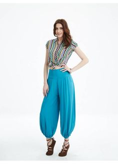 Yellow Print, Black Print, Cream Pants, Trousers Women, Overalls, Fashion, Dirndl, Moda, Fashion Styles