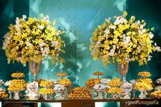 Realizando sonhos: Decoração Azul Tiffany & amarelo