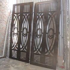 House Main Door Design, Door Gate Design, Cnc Plasma, Chandelier, Ceiling Lights, Doors, Grills, Welding, Gates