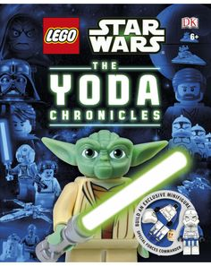 Ever wondered what makes Yoda tick? Now you can find out all you ever wanted to know about the wise Jedi master! Every copy of LEGO® Star Wars™ the Yoda Chronicles comes with an exclusive LEGO® minifigure.