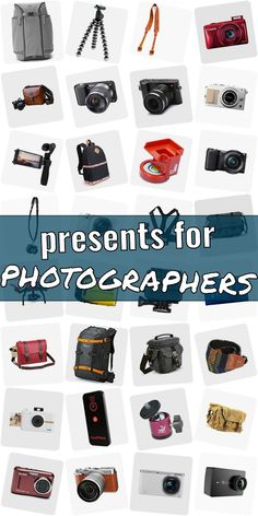 Are you searching for a present for a photographer? Get inspired! Checkout our ulimative article of gifts for photograpy lovers. We have cool gift ideas for photographers which are going to make them happy. Finding gifts for photography lovers does not need to be hard. And dont have to be costly. #presentsforphotographers Presents For Photographers, Crepe Ingredients, Cool Gifts, Searching, Lovers, Gift Ideas, Inspired, Happy, Photography