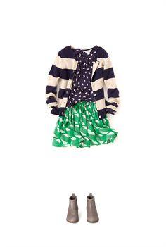 Country Road - Girl's Clothing, Footwear  Accessories Online - Geometric Print Skirt